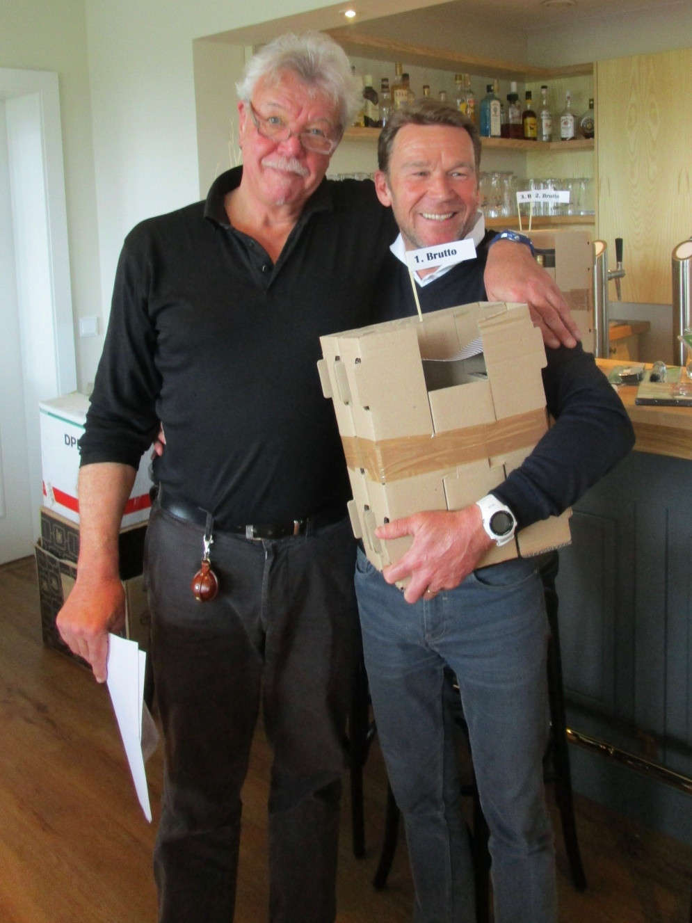 Überflieger Rolf Wagner mit WC Mike Laub