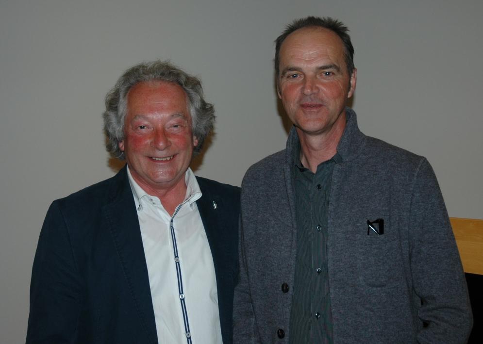 Neuer und alter Vize: Werner Kinder (li.), Uwe Kipper