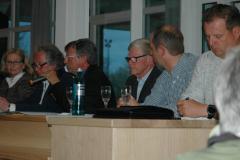 Der neue Vorstand während der Mitgliederversammlung