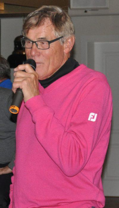 Rainer Bertram bei seiner Abschiedsrede