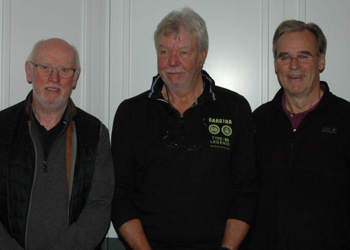Das  Führungstrio der BIMOS v.l.n.r. Michael Ockert, Mike Laub, Heinz Edler